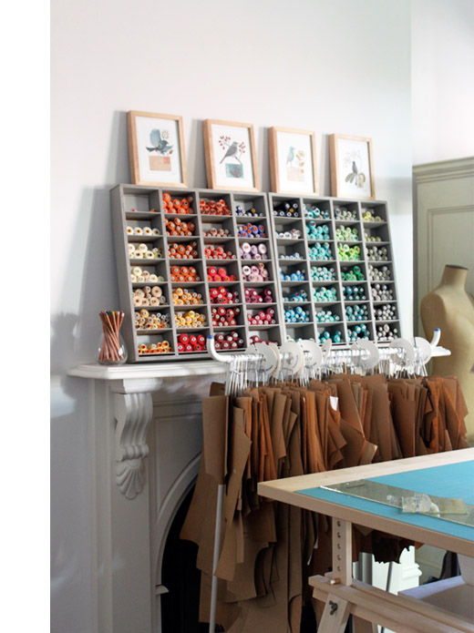 Designing A Sewing Room: Kristine Of Townmouse - The Design Files