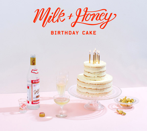 Images Of Cake With Name Honey : Milk and Honey Birthday Cake - The Design Files ...