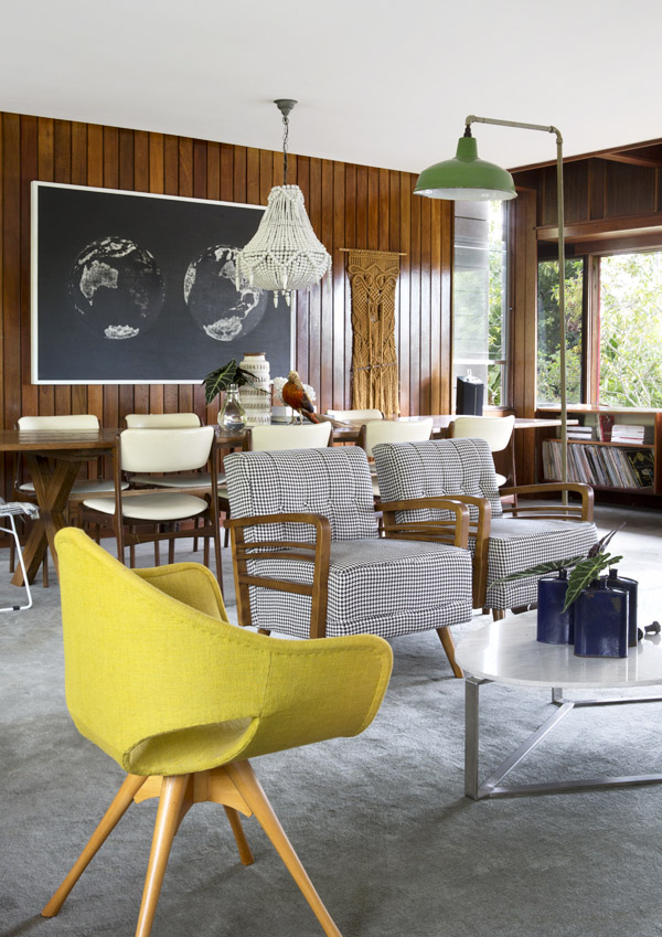 Renee coleman and family the design files australia 39 s for Mid century modern furniture orlando