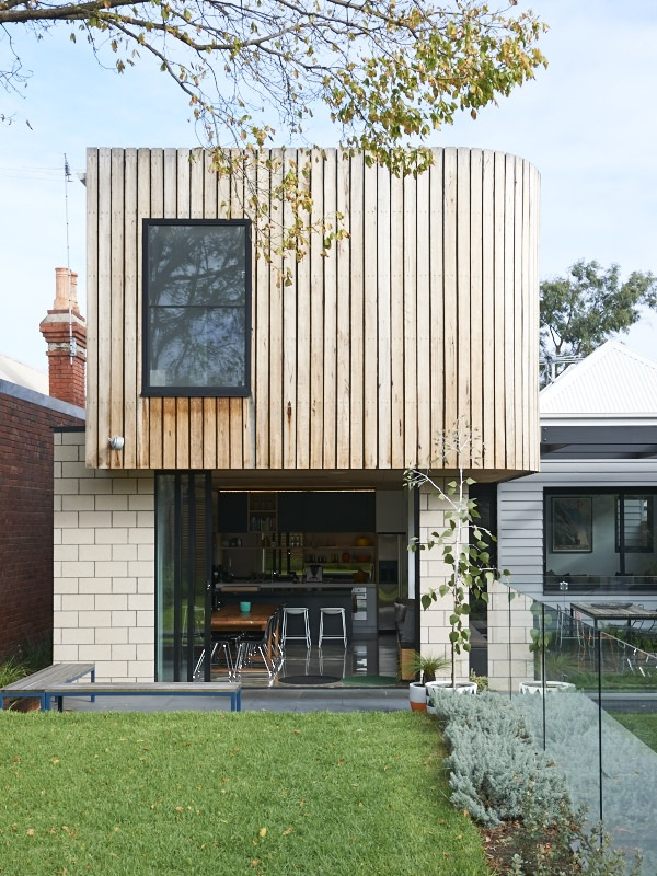 Bill and christine mccorkell and family the design files for Home architecture melbourne